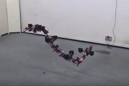 Así es el robot dragón volador que cambia de forma en el aire