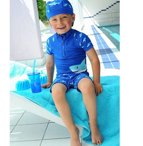 Playshoes UV Protection Bath Set Shark