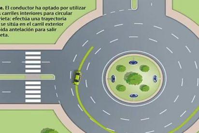 El vídeo de la Guardia Civil que te explica cómo se debe conducir por una rotonda