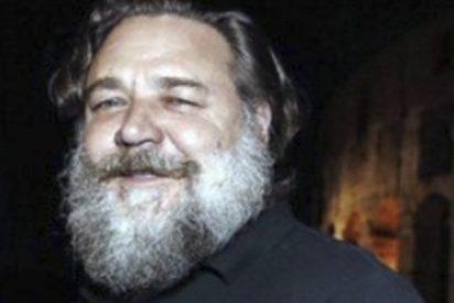 ¿Este es Russell Crowe o Papá Noel?; está irreconocible