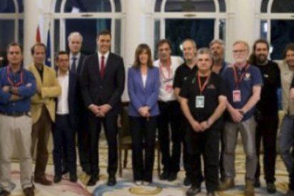 Esta foto de Pedro Sánchez tras su entrevista en TVE genera indignación en las redes