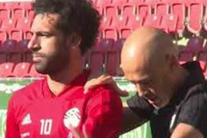 Así entrena Salah en solitario para estar al 100% al inicio del Mundial