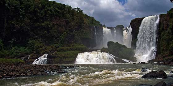 Qué ver en Paraguay: Saltos del Monday