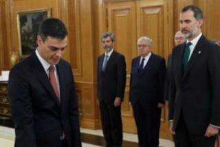 Ni Biblia ni crucifijos: Pedro Sánchez promete su cargo apostando por un Estado laico