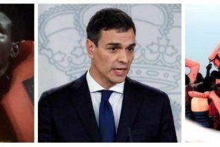 Pedro Sánchez, tras entrar en La Moncloa por la puerta de atrás, quiere ahora que le den el Nobel de la Paz