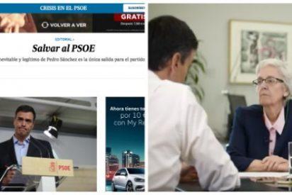 """El País babea con Pedro Sánchez y le hace un publirreportaje de cuatro páginas al """"insensato sin escrúpulos"""""""