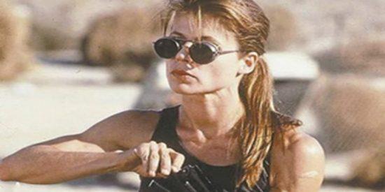 """Así está hoy en día """"Sarah Connor"""", rodando Terminator a sus 61 años"""