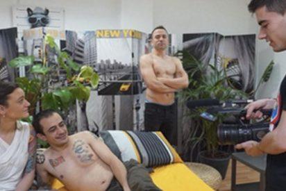 Silvia Charro y Simón Pérez ruedan una película porno con 'El Niño Polla'
