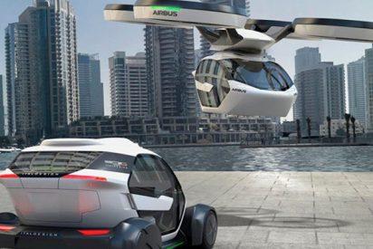 Así serán los 'aerotaxis' en Alemania