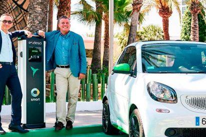 ¡Smart y Endesa electrifican Ibiza!