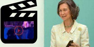 La Reina Sofía se desmelena en Creta con un baile histórico