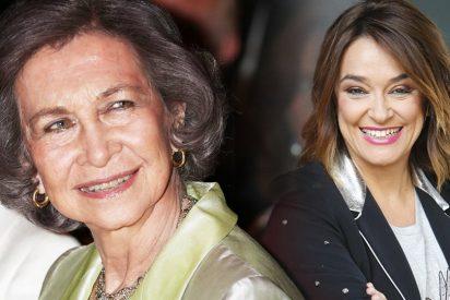 El detallazo de la reina Sofía con Toñi Moreno cuando fue despedida de TVE-1