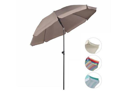 Sombrilla Ø 200 cm Parasol para terraza jardín
