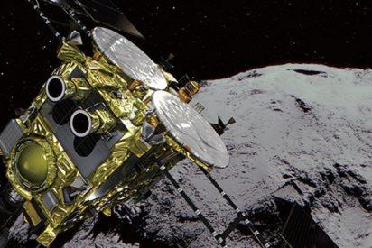 Esta sonda espacial japonesa llega a un asteroide con éxito tras un viaje de tres años y medio