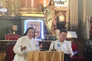 """Sor Lucía, en San Antón: """"Los pobres son los que nos obligan a vivir nuestra vocación"""""""