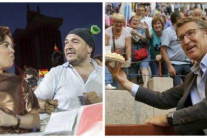 Luis Ventoso apuesta por Feijóo en su duelo con la 'fontanera' Sáenz de Santamaría por el trono de Mariano Rajoy