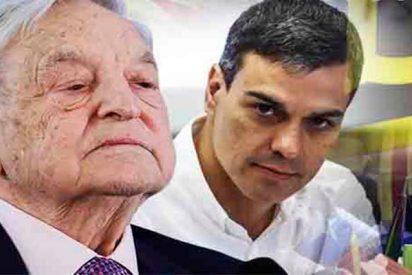 Cataluña y Bankia fueron los temas clave en la reunión secreta de Sánchez con Soros