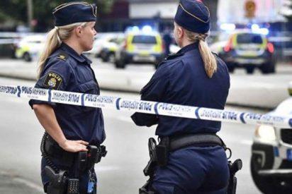 Un hombre armado abre fuego contra una multitud en Suecia