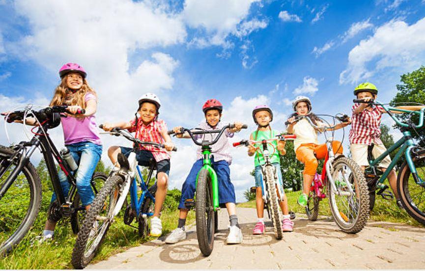 tamaños de bicicletas para niños