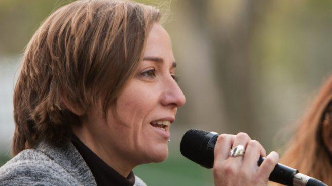El tuit que oculta la Judas de Tania Sánchez donde da hostias a España por jugar contra su devota Irán