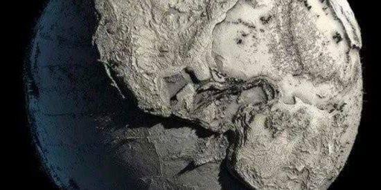 La inquietante imagen de la Tierra sin agua