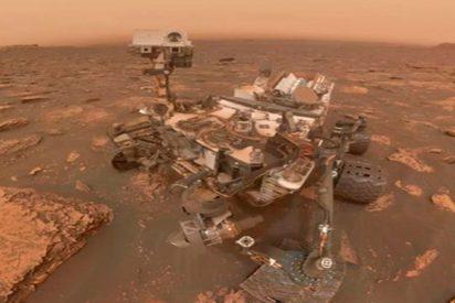 Una fuerte tormenta amenaza al rover Opportunity en Marte