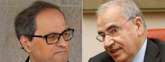 El supremacista Quim Torra se querella contra Alfonso Guerra por llamarle 'nazi'