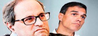 Un cabreado Torra dice en TV3 que está hasta el bigote de que le llamen nazi... pero sigue dando motivos