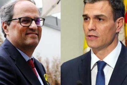 El separatista Quim Torra se lo lleva crudo: su sueldo anual, el doble que el de Pedro Sánchez