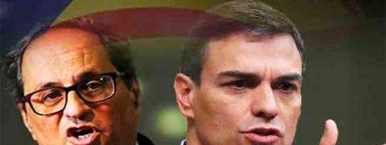 La reapertura de 'embajadas' resucita la Cataluña del golpista Puigdemont ante la pasividad de un alelado Sánchez