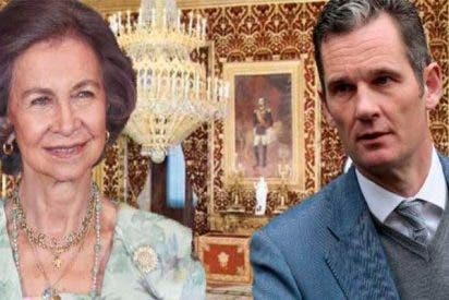 La Reina Sofía consoló a Iñaki Urdangarin justo la noche anterior a entrar en prisión