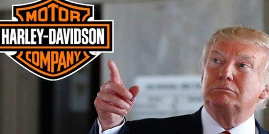 Trump muy cabreado con Harley-Davidson tras su decision de producir sus motos fuera de EE.UU.