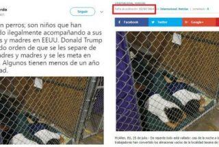 Un tuitero pilla al corresponsal de El Mundo en EEUU mintiendo sobre los niños enjaulados por Trump
