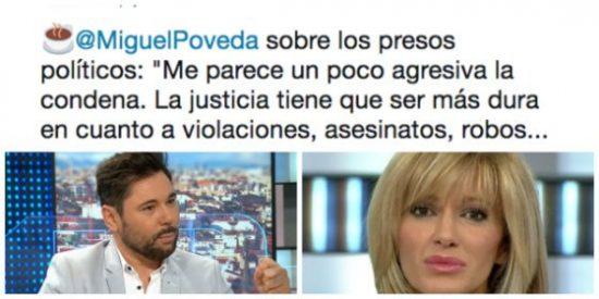 """¡Qué esperpento, Griso! Borra a toda leche un tuit en el que llamaba """"presos políticos"""" a los golpistas catalanes"""