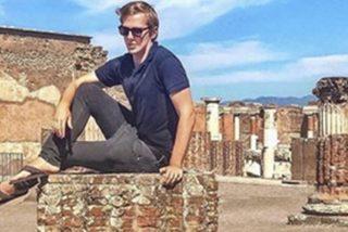 Amenazan de muerte a este turista por hacerse esta foto 'prohibida' en Pompeya