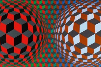 ¿Te acuerdas del Op-Art? Torna Vasarely