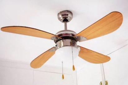 Ventiladores de techo con luz con descuentos de hasta el 45%