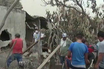 Aumentan a 110 las víctimas mortales del Volcán de Fuego