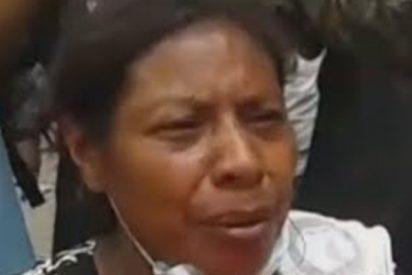 El desgarrador testimonio de esta mujer desesperada que pide que ayuden a más de 20 familiares atrapados por las cenizas