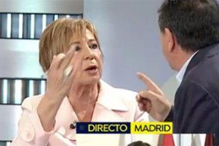 """Tremenda 'paliza' de Celia Villalobos a Arsenio Escolar por el cambio de Gobierno: """"¡Estoy cansada de oíros! ¡No me llames loca!"""""""