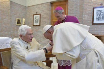 Los nuevos cardenales visitaron a Benedicto XVI