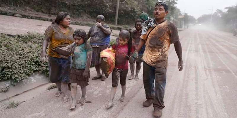 El Papa envía 100.000 dólares a los afectados por el Volcán de Fuego