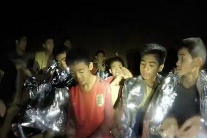 El rescate de cuatro de los 12 menores atrapados en una cueva en Tailandia