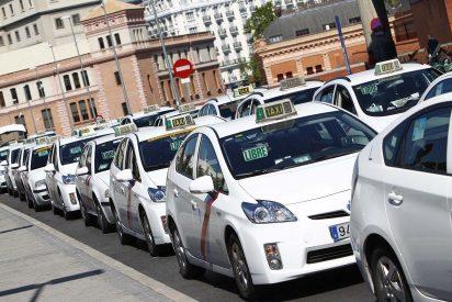 El Gobierno Sánchez se esconde asustado por el chantaje de los taxistas