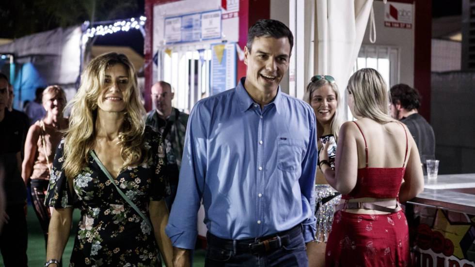 El baile de Begoña con 7 guardaespaldas tras patearse Sánchez, su marido, 36.600 € del ala