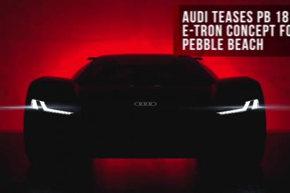 PB-18 e-tron: El futuro de los coches deportivos 100% eléctricos de Audi