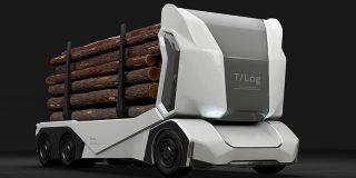 Así es el primer camión maderero 100 % eléctrico