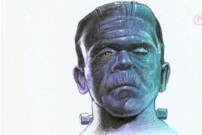 El aterrador 'meme' del gobierno Frankenstein para felicitar la Nochevieja