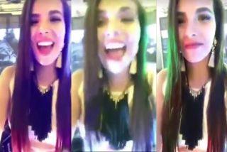 Cabreo en redes sociales: la presentadora de televisión se ríe tras atropellar a un perro