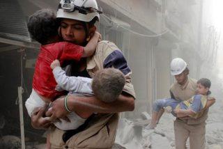 Damasco halla este escondite de los Cascos Blancos en una zona arrebatada al Estado Islámico